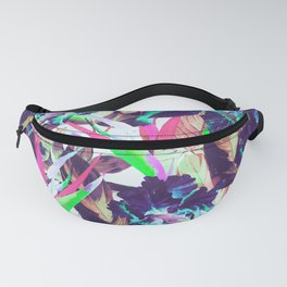 Electric tropical Fanny Pack