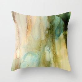 Rainy Window Throw Pillow