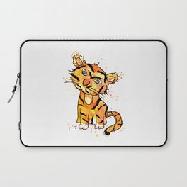 Frida Tiger Mono Brow Laptop Sleeve
