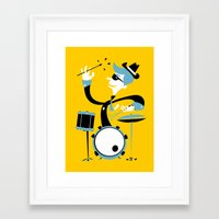 drums Framed Art Prints featuring Drums by Arthur Porto