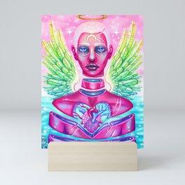 King, Angel of the Fragmented Mini Art Print