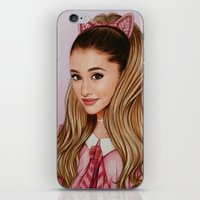 60s iPhone & iPod Skins featuring The 60s Ariana by The Art Of Dreams
