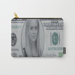 Lindsay Lohan money Carry-All Pouch