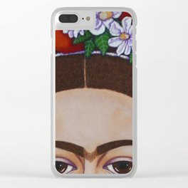 Those Eyebrows Clear iPhone Case