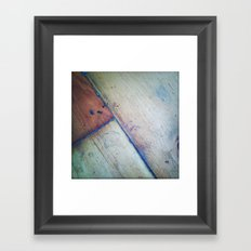 My Brother's Kitchen Floor Framed Art Print