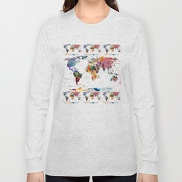 map Long Sleeve T-shirt