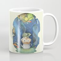 over the garden wall Mugs featuring Over the Garden Wall by zaMp