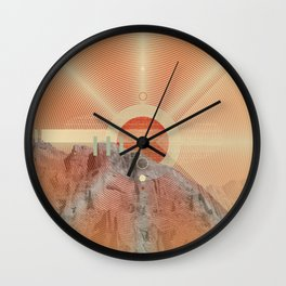 Not knowing when the dawn will come #everyweek 49.2016 Wall Clock
