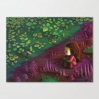 starcraft Canvas Prints featuring Infest by Rekka Bellum
