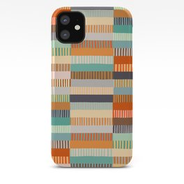 Fall Grandmother's Quilt iPhone Case