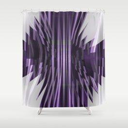 Avantgarde purple Shower Curtain