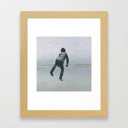 Take the chance Framed Art Print