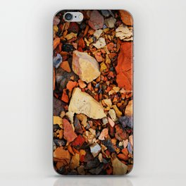 the walk through the colored stones iPhone Skin