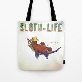 SLOTH LIFE fig. 5. Tote Bag