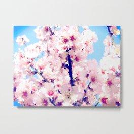 Almond Blossom IV Metal Print