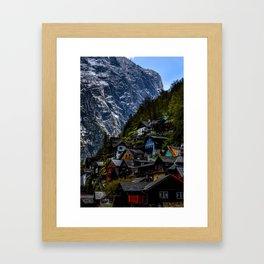 Where Two Worlds Meets... Framed Art Print
