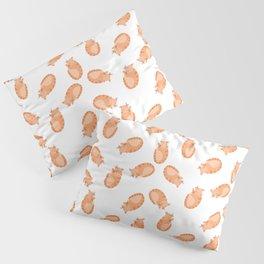 Ginger Cat Pattern Pillow Sham