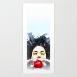 """Eve and Fruit"" (apple) Art Print"