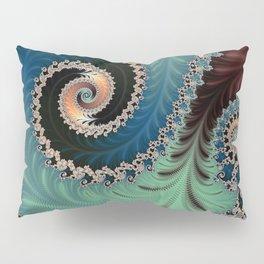 Azure - Fractal Art Pillow Sham