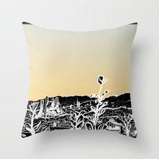 Locals Only - Los Feliz Black Throw Pillow