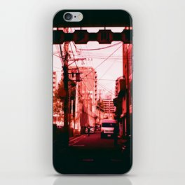 Out Towards a World in Red iPhone Skin