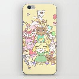 Animal Crossing (yellow) iPhone Skin