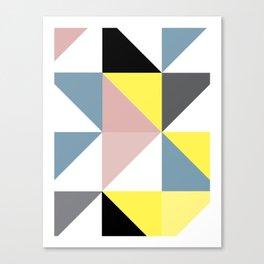 Triangle Scandinavian Art Canvas Print