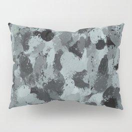 Black and Smokey Blue Pastels 3216 Pillow Sham