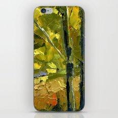 Backlit Aspens iPhone & iPod Skin