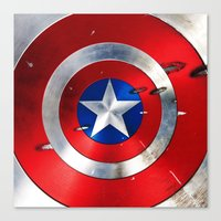 shield Canvas Prints featuring SHIELD by Smart Friend