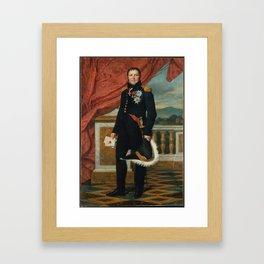 General Étienne-Maurice Gérard Jacques-Louis David, 1816 Framed Art Print