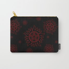 Anti Possesion Pattern Red Glow Carry-All Pouch