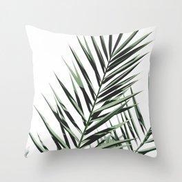 Minimal Modern Plants Throw Pillow