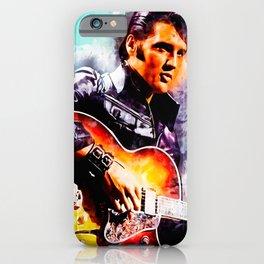Elvis Presley Jailhouse Rock Legends Blanket, Guitar Lover iPhone Case