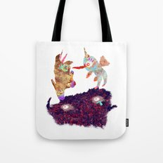 I Don't Believe Using Your Psychic Powers Tote Bag