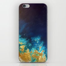 Ocean from above iPhone & iPod Skin