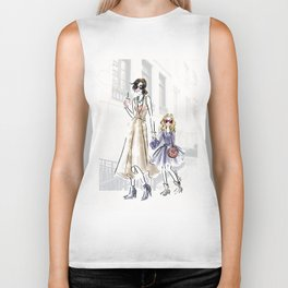 City fashion walk Biker Tank