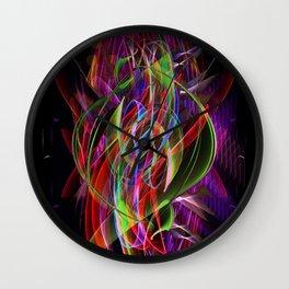 Art Deco Swirl Wall Clock