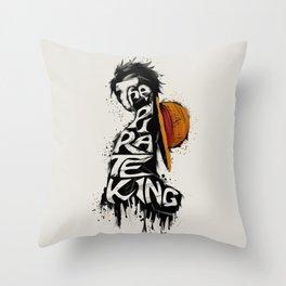 King Of Pirate Throw Pillow