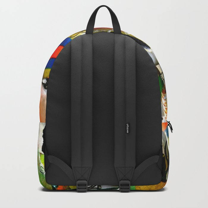 COLOURFUL FISHING FLOATS Backpack