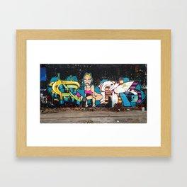 Miley  Framed Art Print