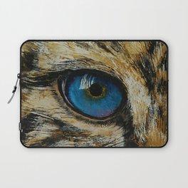 Leopard Eye Laptop Sleeve