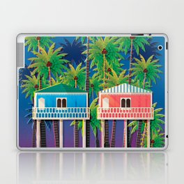 Palolem Beach Huts Laptop & iPad Skin