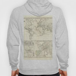 Vintage Map - Spruner-Menke Handatlas (1880) - 17 The Unification of Spain and Grenada, 1257 - 1492 Hoody