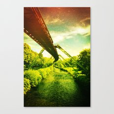 Green W. Canvas Print