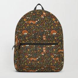 Fox in an Autumn Garden Backpack