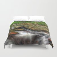 running Duvet Covers featuring Running Cold by ThePhotoGuyDarren
