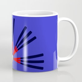 Baseball Bat and Ball Design Coffee Mug