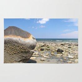 Rocks on the Beach Rug
