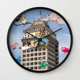 Downtown Fresno/ Fulton Mall/ Downtown is Magic Wall Clock